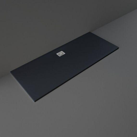 RAK-Feeling Bathtub Replacement Shower Tray RAK Solid Black (504) 90x170 cm