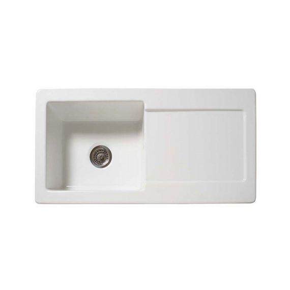 Reginox RL504CW Ceramic Sink 1000x500