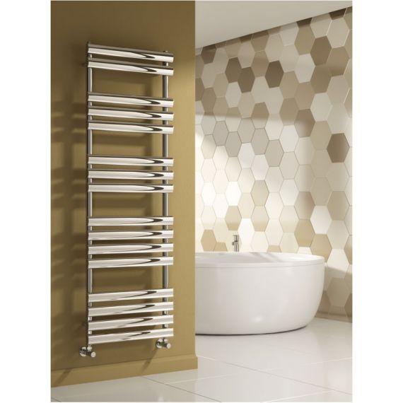 Reina Arbori Designer Towel Rail Chrome 820 x 500mm RND-ARB082C
