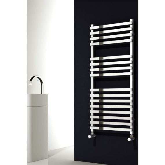 Reina Carina Chrome Designer Towel Rail 1200 x 500mm