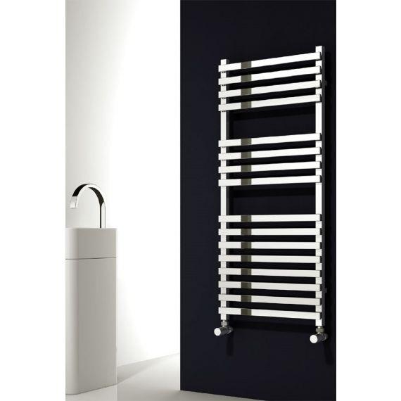 Reina Carina Chrome Designer Towel Rail 1200 x 500mm