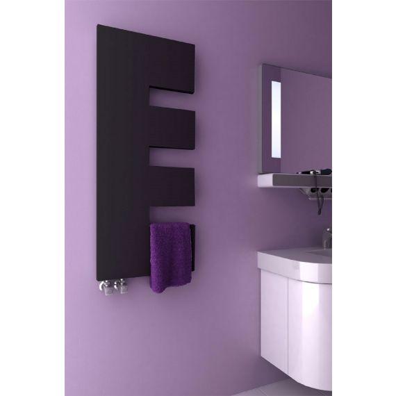 Reina Ella Anthracite Designer Towel Radiator 1200 x 500mm RND-EA512A
