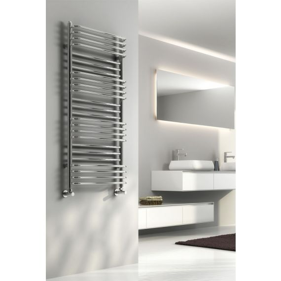 Reina Marco Chrome Designer Towel Rail 1400 x 500mm