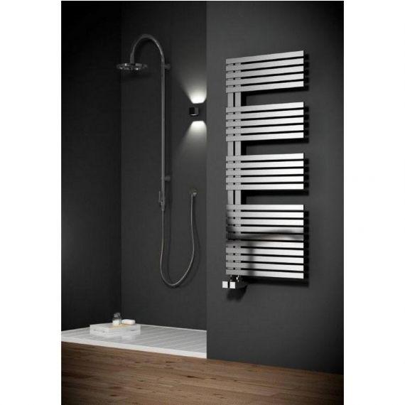 Reina Entice Brushed Designer Heated Towel Rail 1700 x 500mm