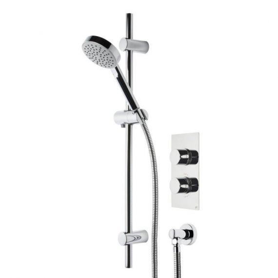 Roper Rhodes Event Round Single Function Shower System SVSET20