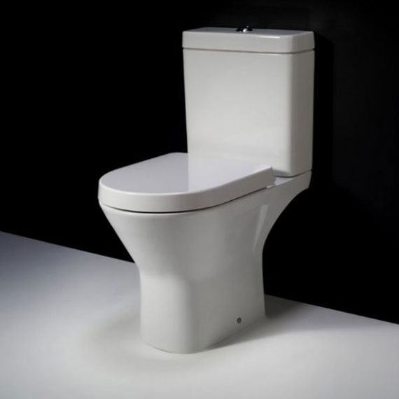 RAK Resort Mini Close Coupled Full Access Toilet Inc Soft Close Seat