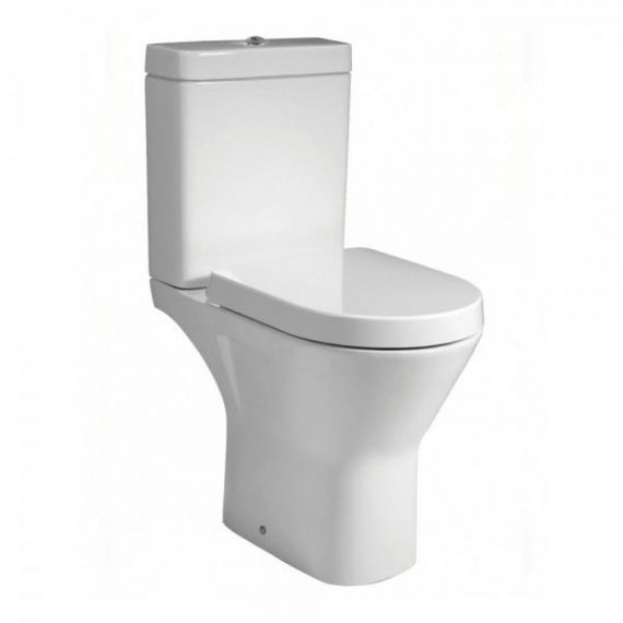 RAK Resort Maxi Close Coupled Full Access Toilet Soft Close Seat