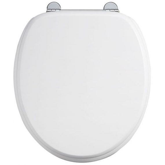 Burlington Carbamide Toilet Seat White S13