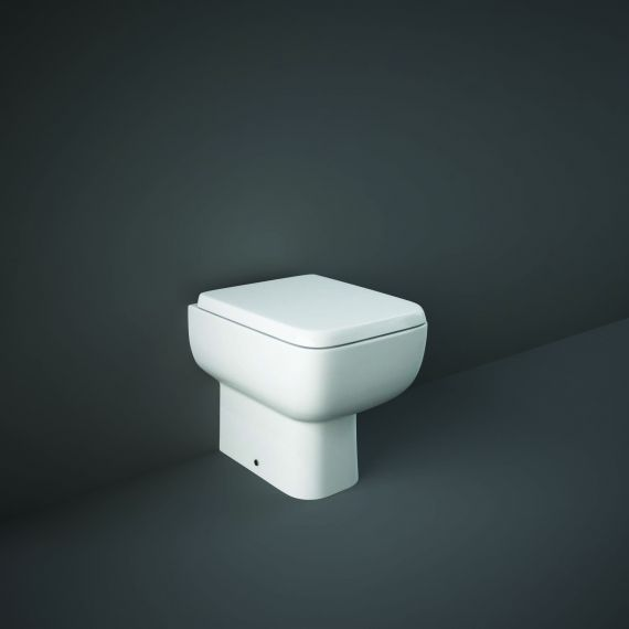 RAK-Series 600 Back to Wall Pan with Wrap over Soft Close Seat