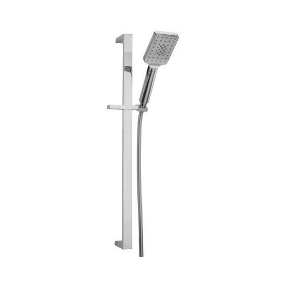 Sagittarius Capri 3 Mode Push Button Shower Handset and Riser