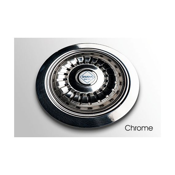 Shaws Chrome Strainer Waste Small