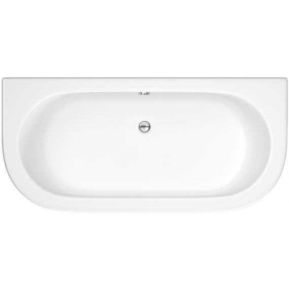 Curved Back To Wall Bath & Panel