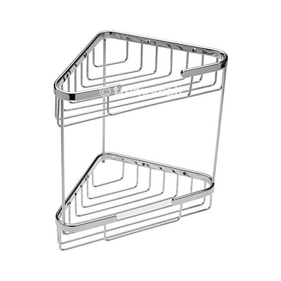 Tre Mercati Wall Mounted Double Triangular Corner Basket 66440