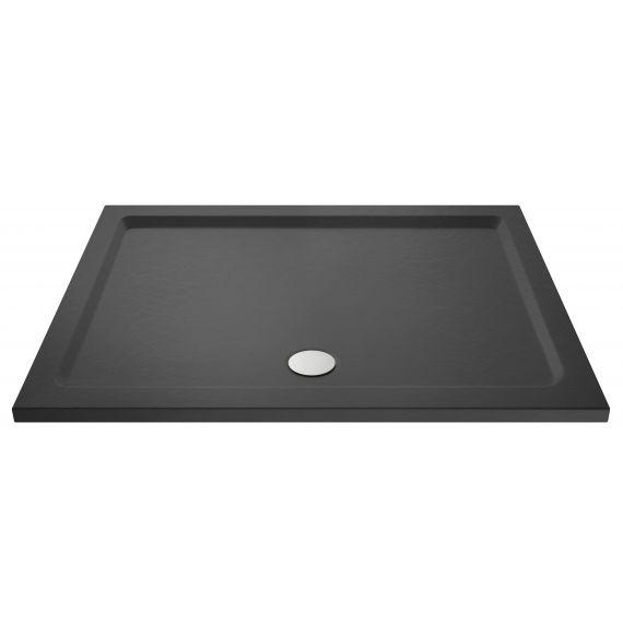 Nuie Slate Grey Rectangular Shower Tray 1800 x 800mm