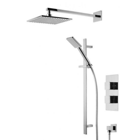 Tavistock Index Square Dual Function Diverter Consealed Shower System SND1610