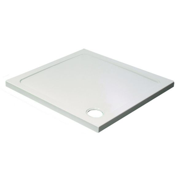 Square Shower Tray 45mm Low Profile 760x760