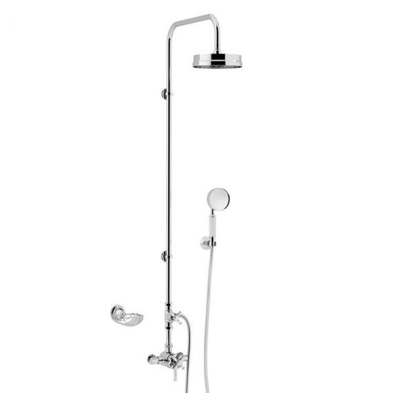 Heritage Somersby Exposed Thermostatic Valve with Rigid Riser and Handset SSOBDUAL04