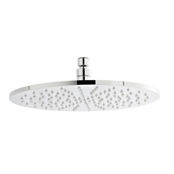 Nuie Round LED Fixed Head Chrome 300mm