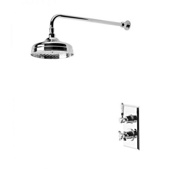 Tavistock Varsity Thermostatic Consealed Single Function Shower Valve With Shower Head SVA0214
