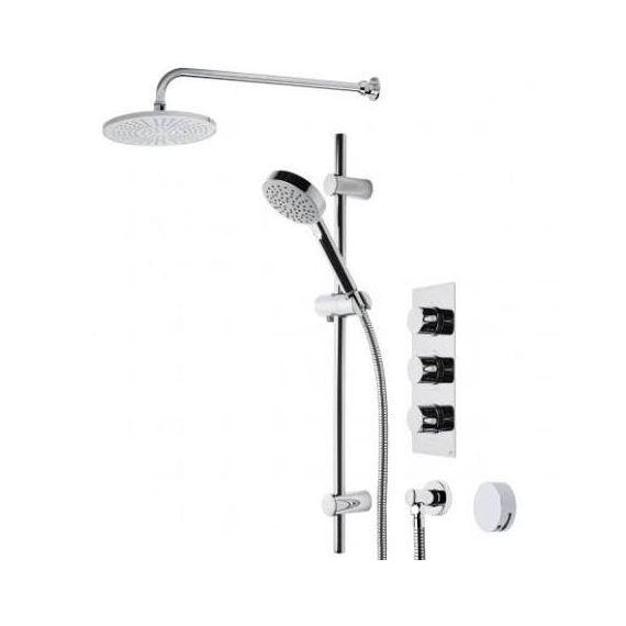 Roper Rhodes Event Round Triple Function Shower System SVSET22
