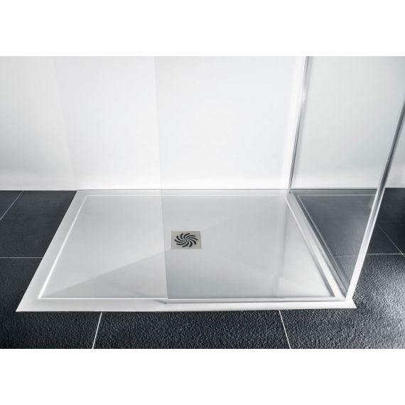 Rectangular 25mm 1700 x 700 Stone Resin Shower Tray and Waste