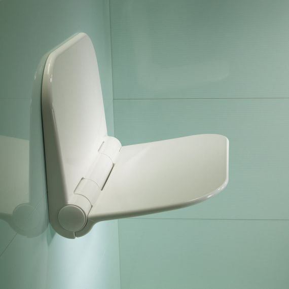 White Folding Seat for Wetroom TR7001