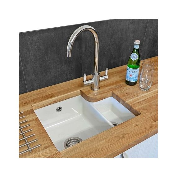 Reginox Tuscany 1 5 Bowl Ceramic Undermount Kitchen Sink