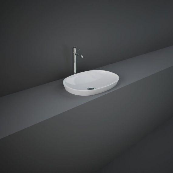 RAK-Variant Oval Drop-In Wash Basin 50cm