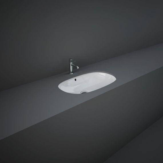 RAK-Variant Elongated Oval Under Counter Wash Basin 60cm