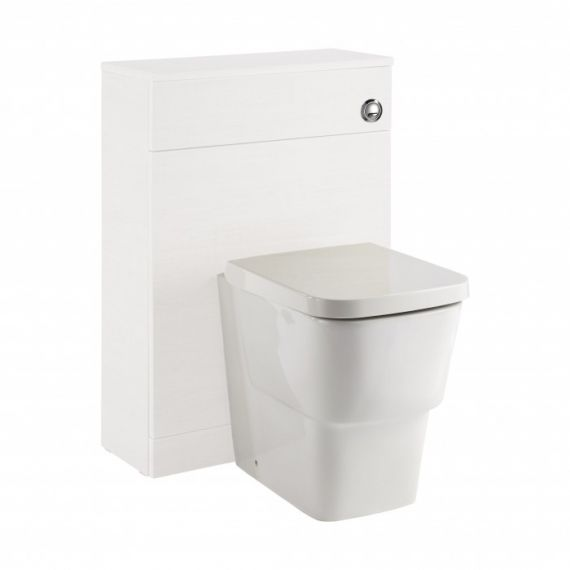 Frontline Vitale 600mm WC Unit - Gloss White