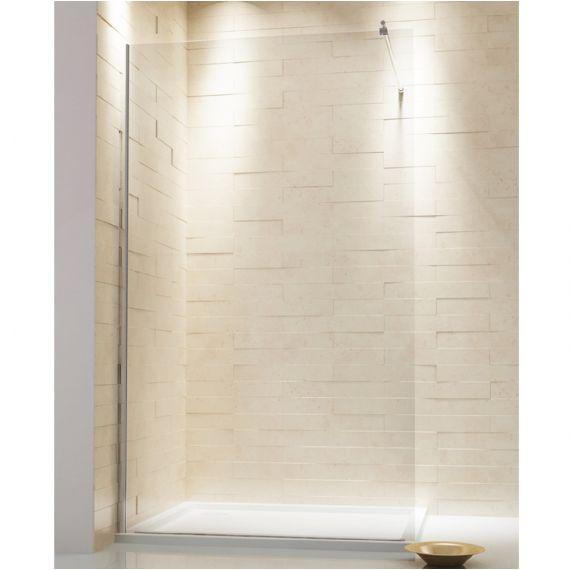 600mm Luxury Wetroom Glass Easy Clean
