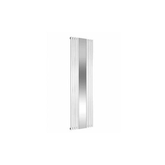Reina Reflect White Mirrored Designer Radiator 1800 x 445mm